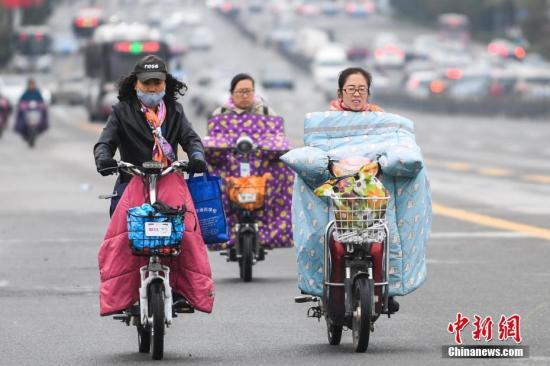 较强冷空气继续影响东北黄淮等地 华西阴雨天气持续