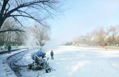 北京市属公园雪场本周陆续开放