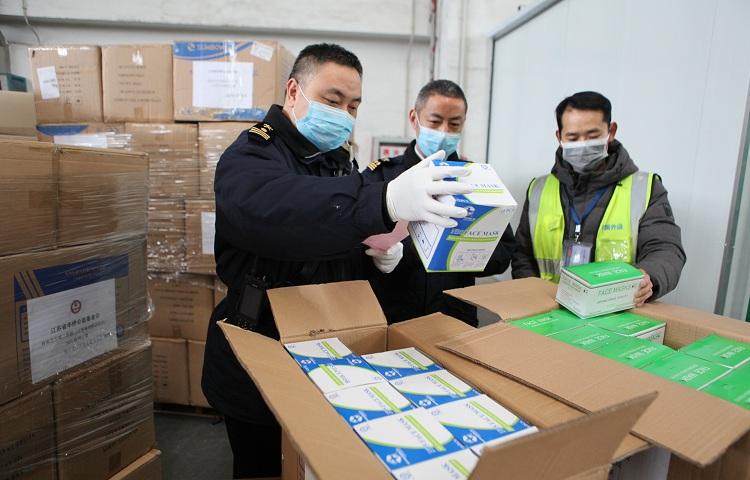 全国海关共验放进口入境防控物资8.7亿件 价值28.4亿元