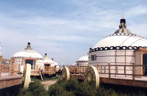 内蒙古 乌兰察布市地标 格根塔拉草原旅游景区
