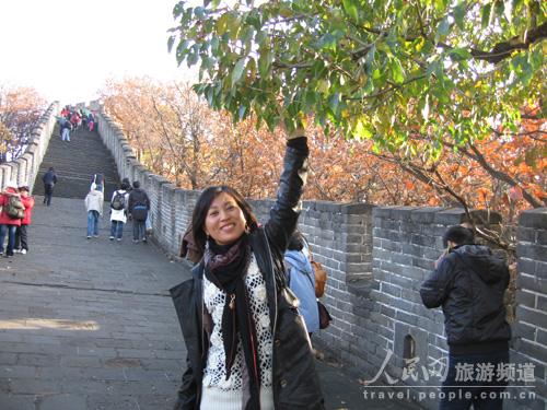 网友百合:美女与野牛的长城穿越