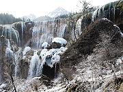 九寨沟冰瀑