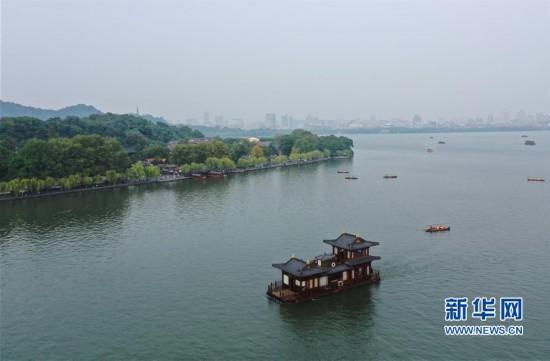 (环境)(2)杭州西湖:秋色淡染